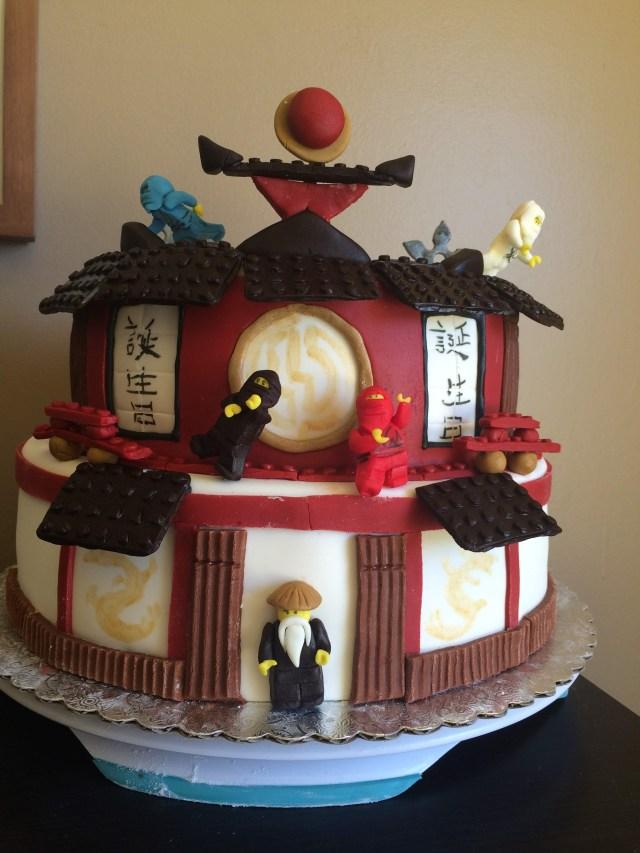 ninjago cake fondant
