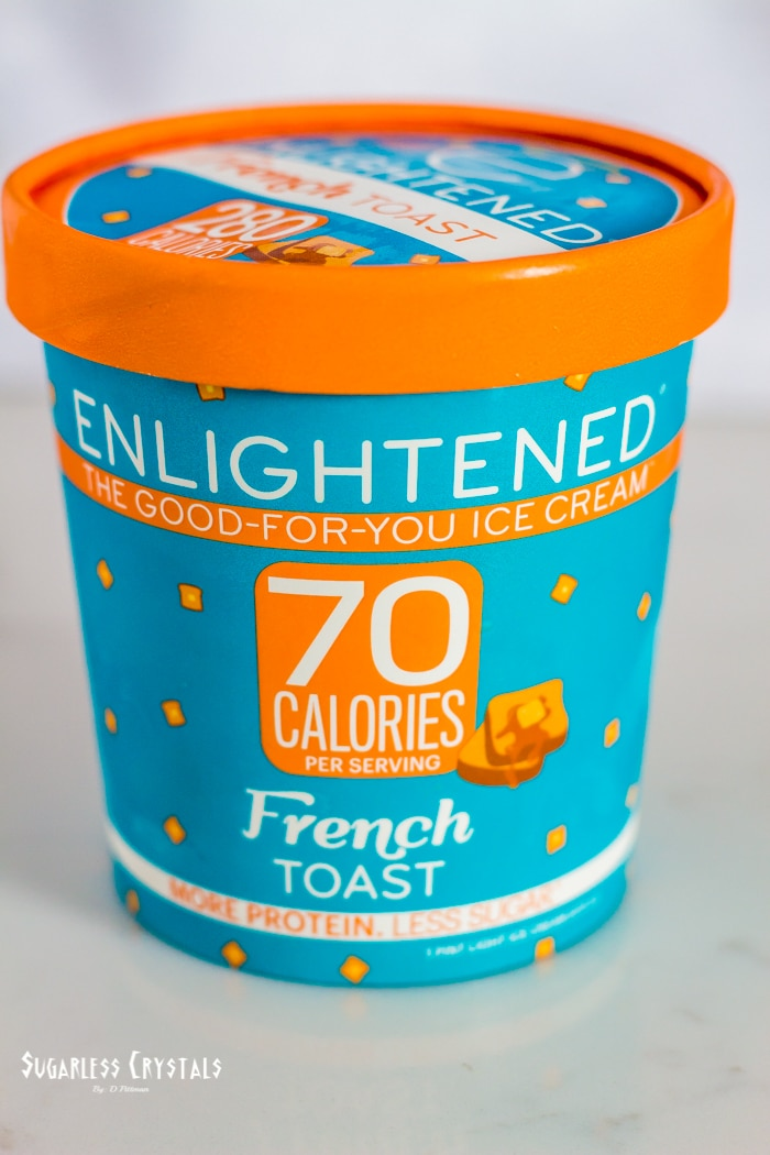 enlightened ice cream french toast