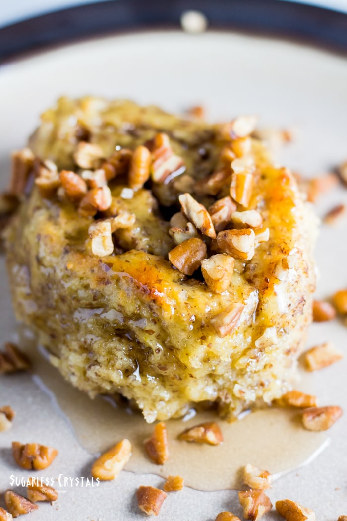 Maple Pecan Keto Cinnamon Rolls (Low Carb, Grain Free, Sugar Free)