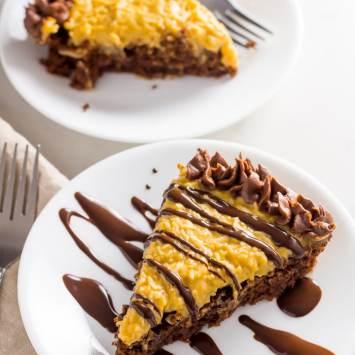 Keto Chocolate Cake German Chocolate Style (Low Carb, Gluten Free)