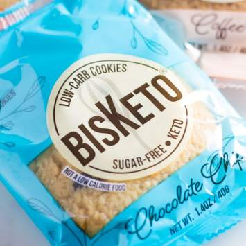 Reviewing BisKeto cookies for the first time