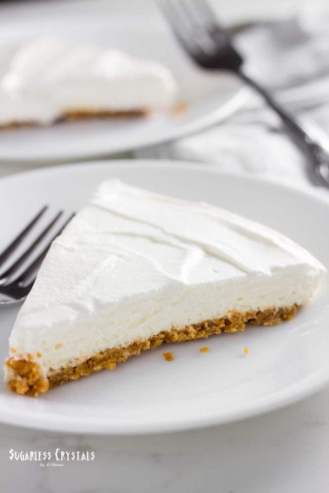 Classic Keto No Bake Cheesecake