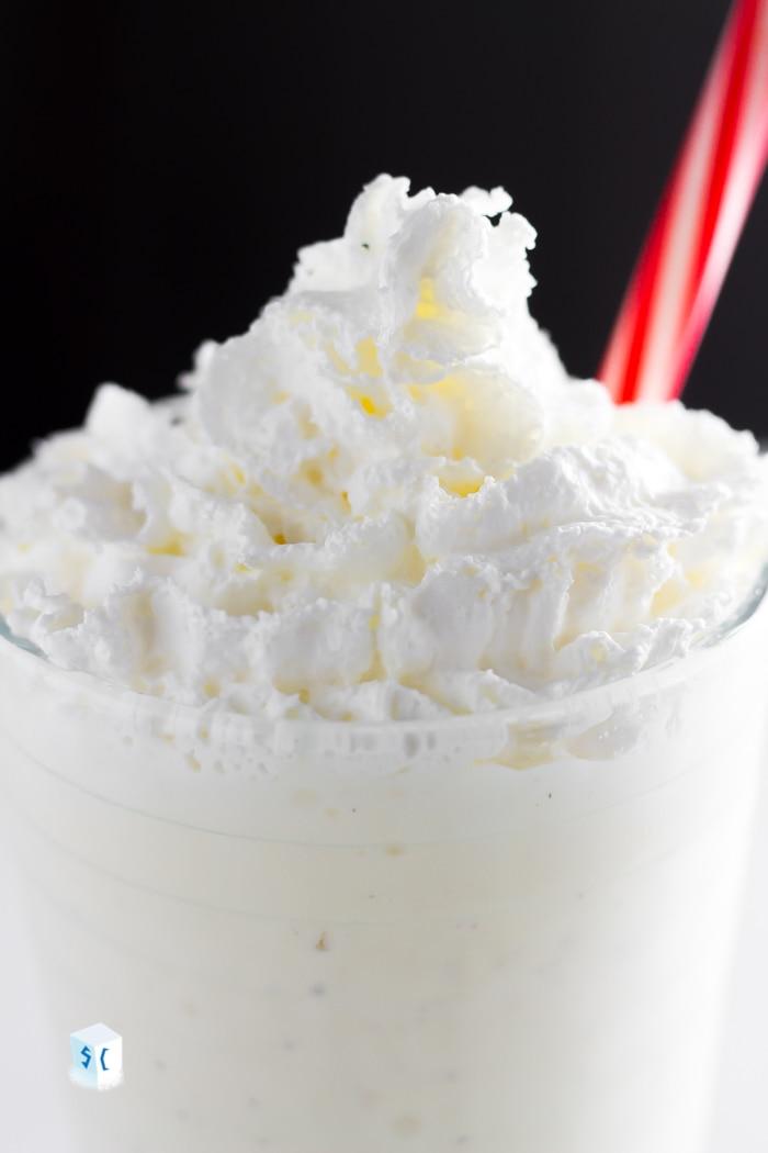 vanilla keto milkshake