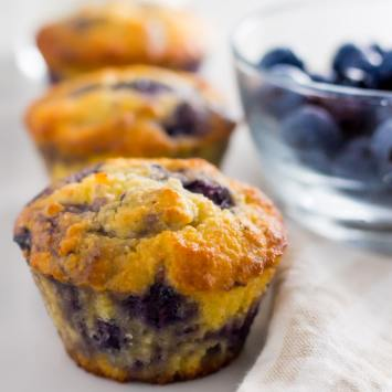 Best Tasting Keto Blueberry Muffins Ever!
