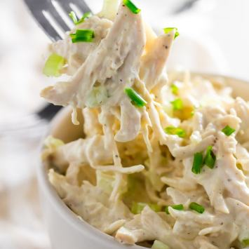 The Best Keto Chicken Salad Recipe!
