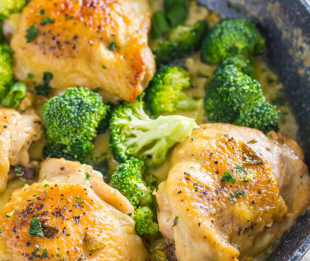 Low Carb Chicken and Broccoli (Keto-Friendly)