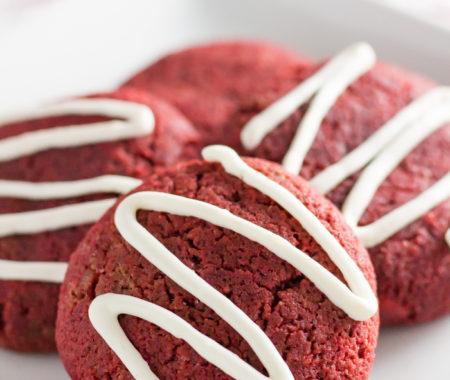 Red Velvet Keto Cookies (Low Carb, Sugar Free, Gluten Free)