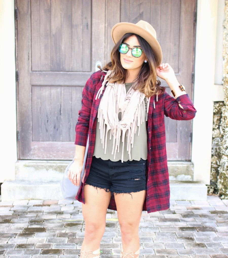 fall layering outfit