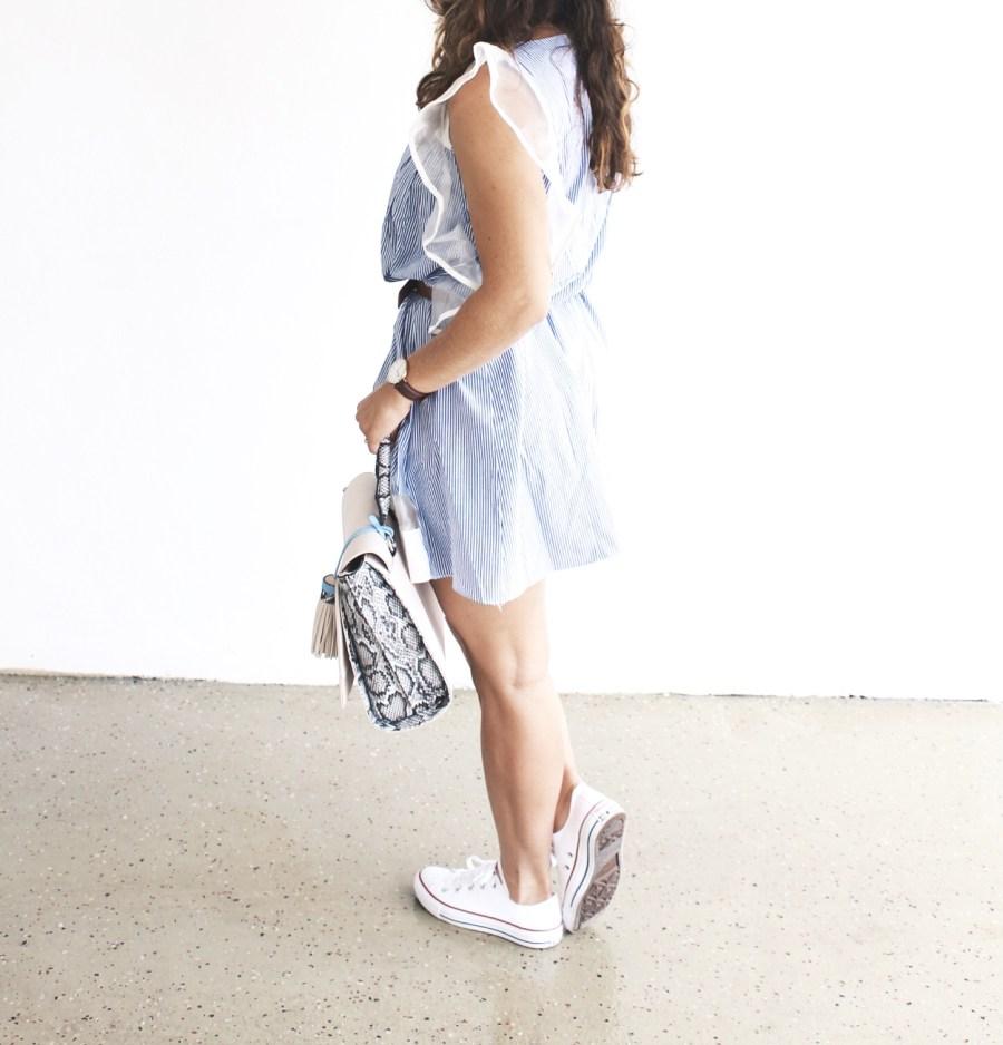 A Dress & Sneakers