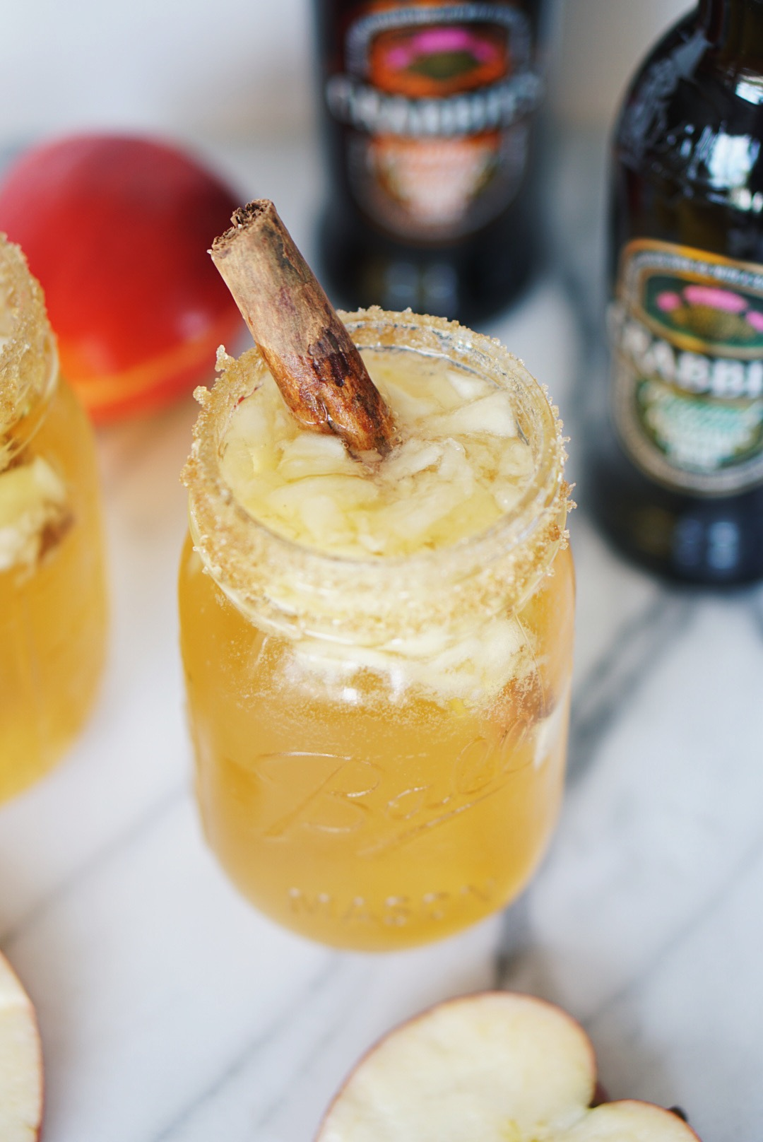 The Perfect Fall Cocktail Featuring Crabbie's Alcoholic Ginger Beer