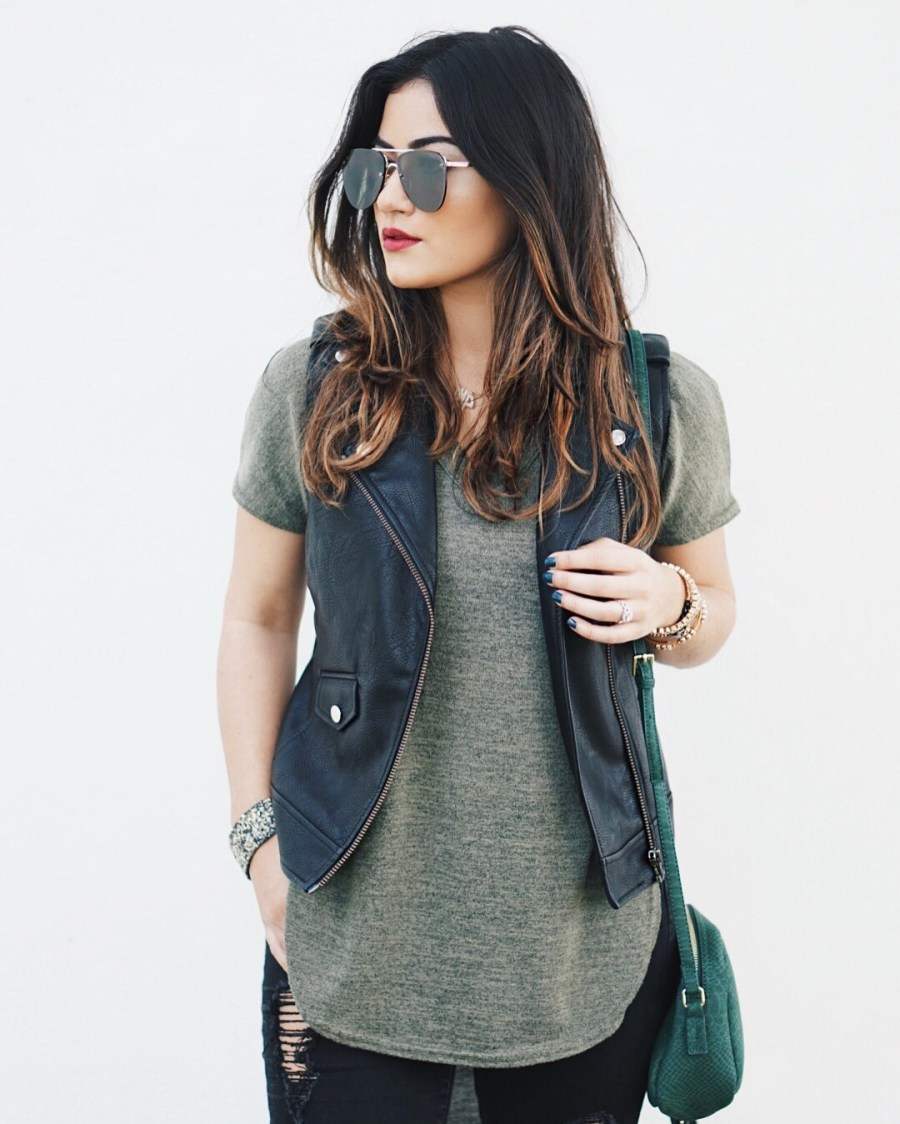 neutral casual outfit