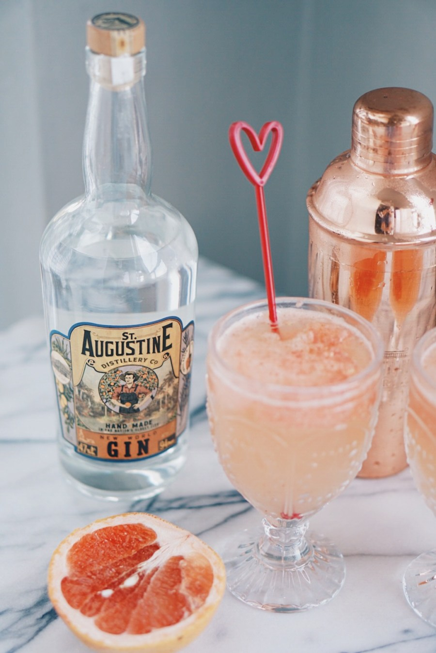 St. Augustine Distillery Spicy Grapefruit and Gin Cocktail