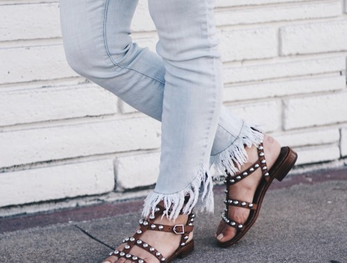 Sugar Love Chic blogger Krista Perez shares her favorite Spring 2017 Sandal Trends