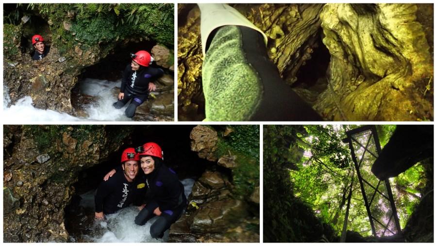 Trip New Zealand in the Waitomo Glowworm Caves