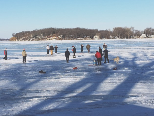 Frozen Lake Kickball Tournament