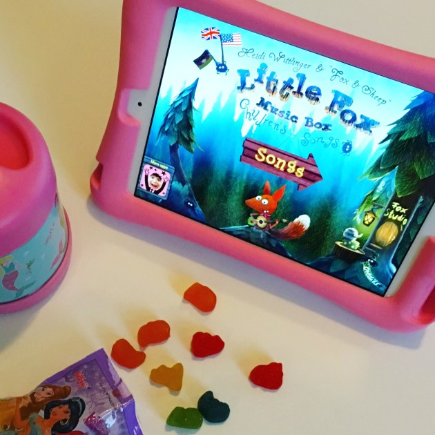 Favorite Toddler iPad Apps - Little Fox Music Box