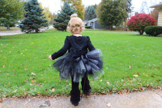 Black Cat Costume Diy Tutu Sugar Maple Notes