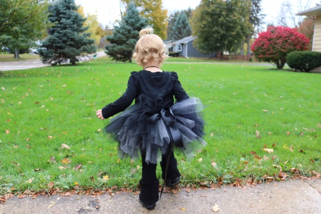 Black Kitty Cat Costume and Make Your Own Tutu