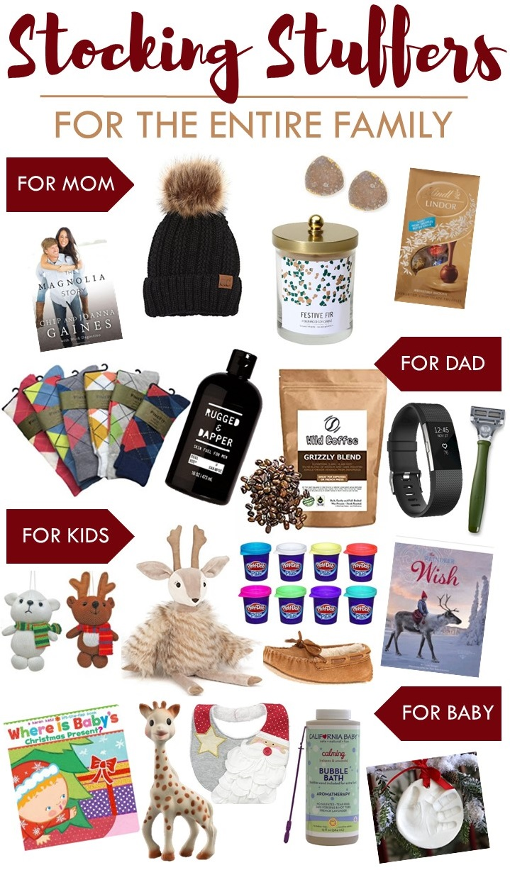 Stocking Stuffers For The Entire Family Sugar Maple Notes
