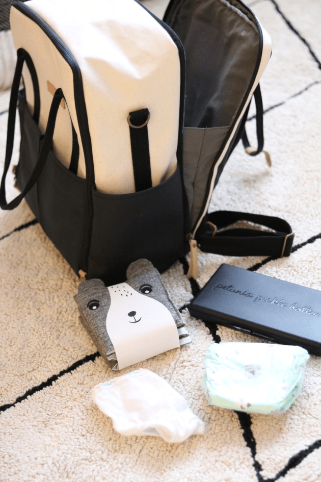 Best Diaper Bag for Toddler and Baby - Petunia Pickle Bottom INTERMIX Collection + Wee Gallery