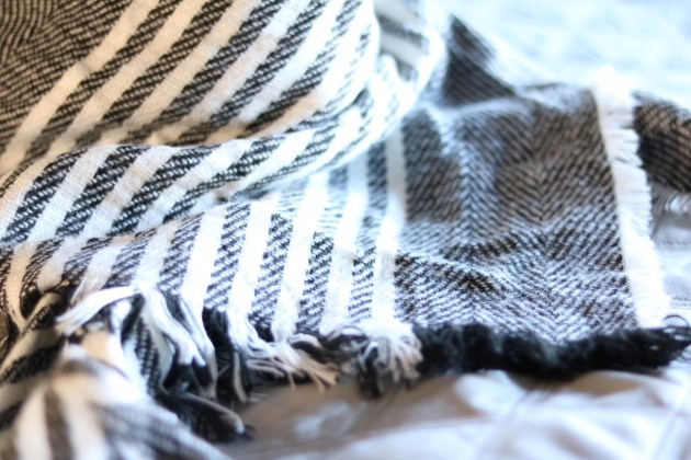 Gift Guide For The Cozy Mom - A&I Triangle Scarf