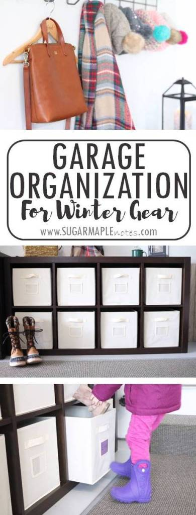 Garage Organization Solution for Winter Gear - Get your family organized this winter with a Sauder storage solution from Shopko!