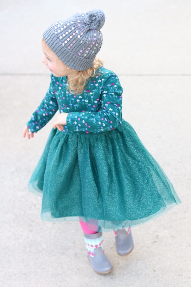 Holiday Traditions - THE BEST TIME TO BE A KID with Gymboree Twirl Dress