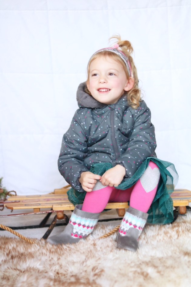 Holiday Traditions - THE BEST TIME TO BE A KID with Gymboree toddler girl outfit