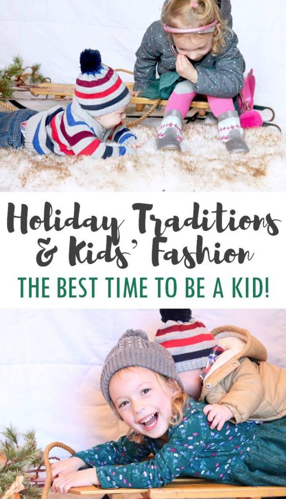 Holiday Traditions and Kids' Fashion Looks - THE BEST TIME TO BE A KID with Gymboree