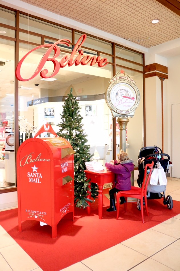 Last Minute Holiday Shopping at Hilldale - Write A Letter To Santa by Macy's