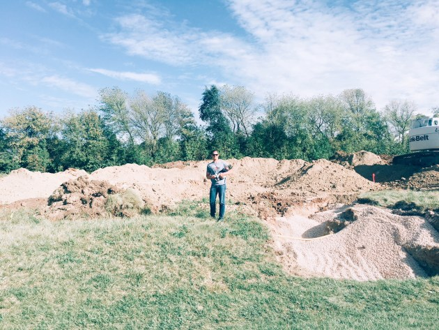 Breaking ground on our new house. What to expect when building a home. - Wisconsin Lifestyle Blogger -