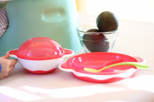 Playtex Baby Use 3 Ways bowls and plates. Playtex Baby infant spoons.