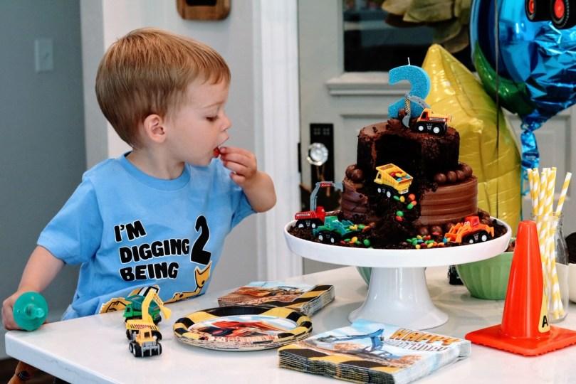 Superb Diy Construction Truck Birthday Cake Taste Sugar Maple Notes Birthday Cards Printable Opercafe Filternl
