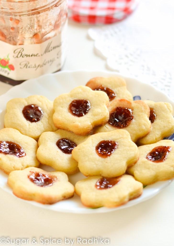 Thumbnail Raspberry Jam Cookies