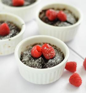 Another Valentines Day special  my mini flourless chocolate cakeshellip