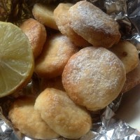Super Easy Lemon Butter Biscuits
