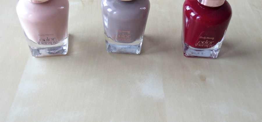 New In: Sally Hansen Color Therapy – Pflege + Farbkraft!