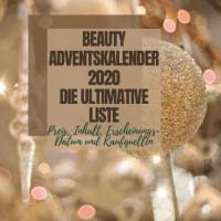 [GER] Beauty Adventskalender 2020: Die ULTIMATIVE Liste *aktualisiert 28.09.20