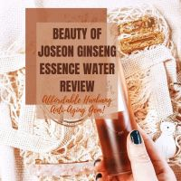 [ENG] Beauty of Joseon Ginseng Essence Water Review - Affordable Hanbang Anti-Aging Gem!