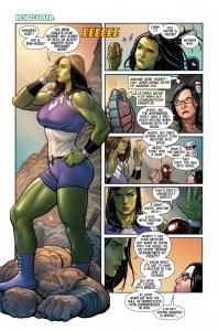 Il fichissimo Hulk di Frank Cho e Greg Pak 01