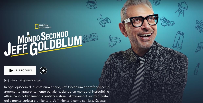 Il mondo secondo Jeff Goldblum, la recensione di Matteo Marchisio