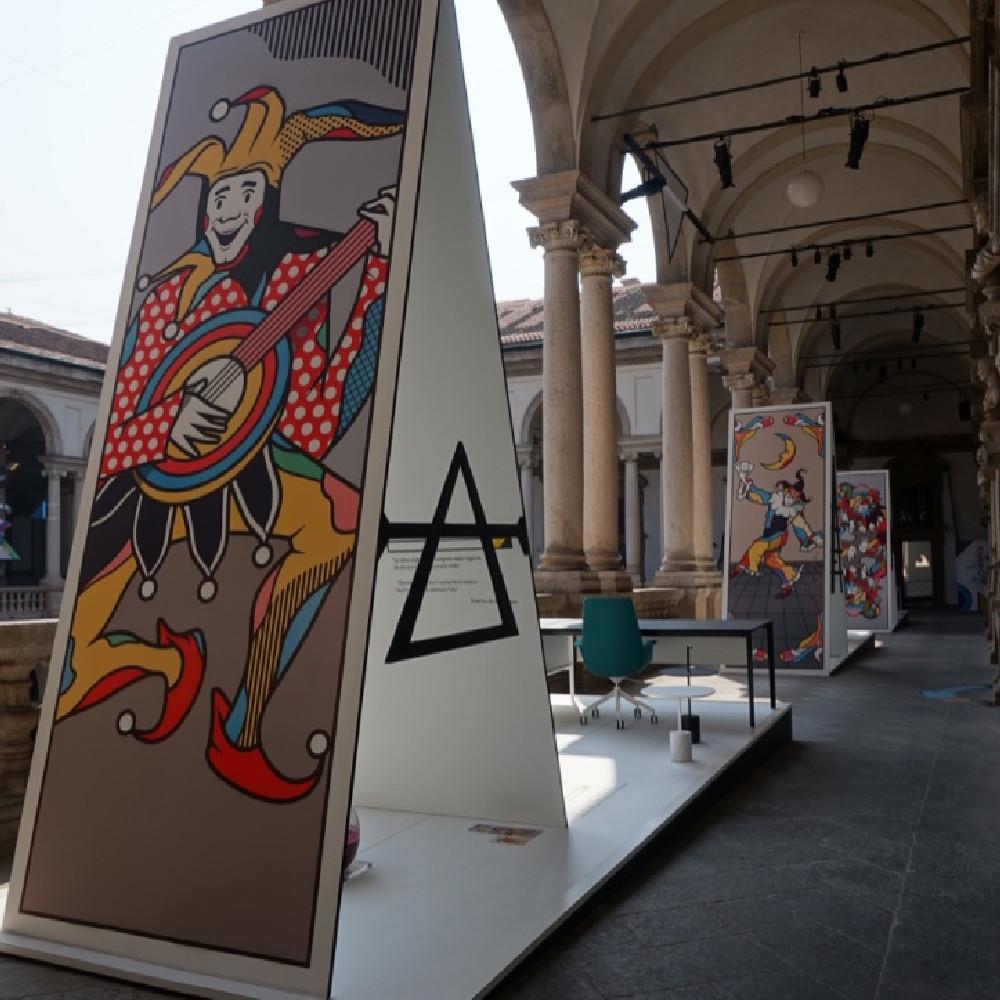 Milano Brera installazione