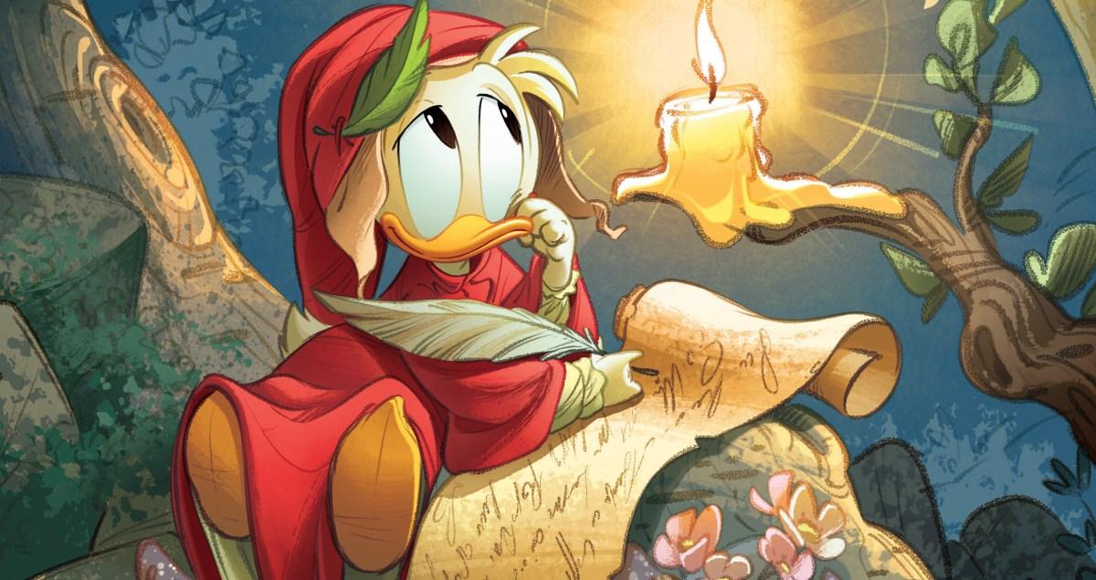 PaperDante, l'omaggio di Disney per i 700 anni della morte di Dante