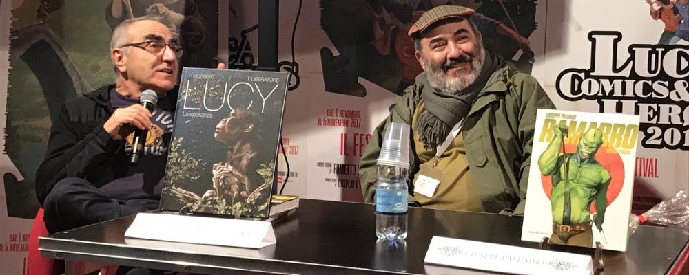 Tanino Liberatore e Giuseppe Palumbo incontro a Lucca - featured