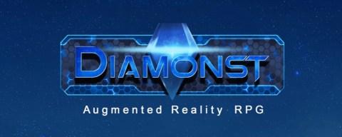 DIAMONST Augmented Reality RPG prova la strada Kickstarter