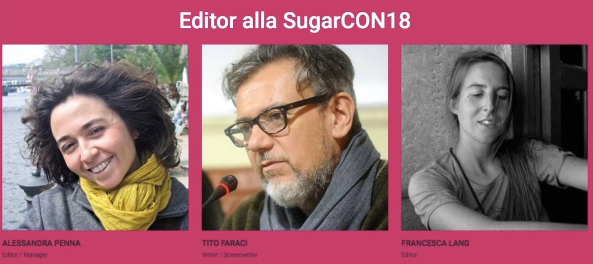 Editor ospiti alla Sugarcon18