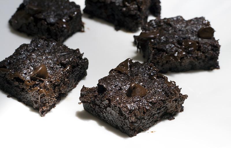 Gluten- Soy- Dairy-free brownies!
