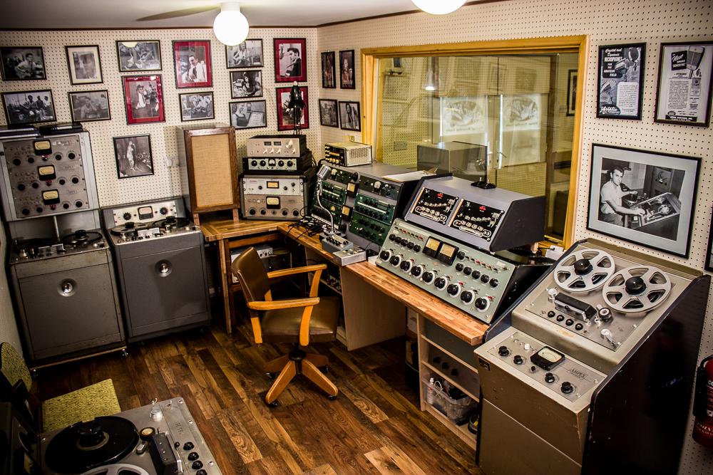 Sugar Rays Control Room Sugar Rays Vintage Recording Studio