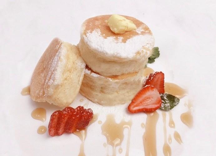 Jiggly souffle pancake
