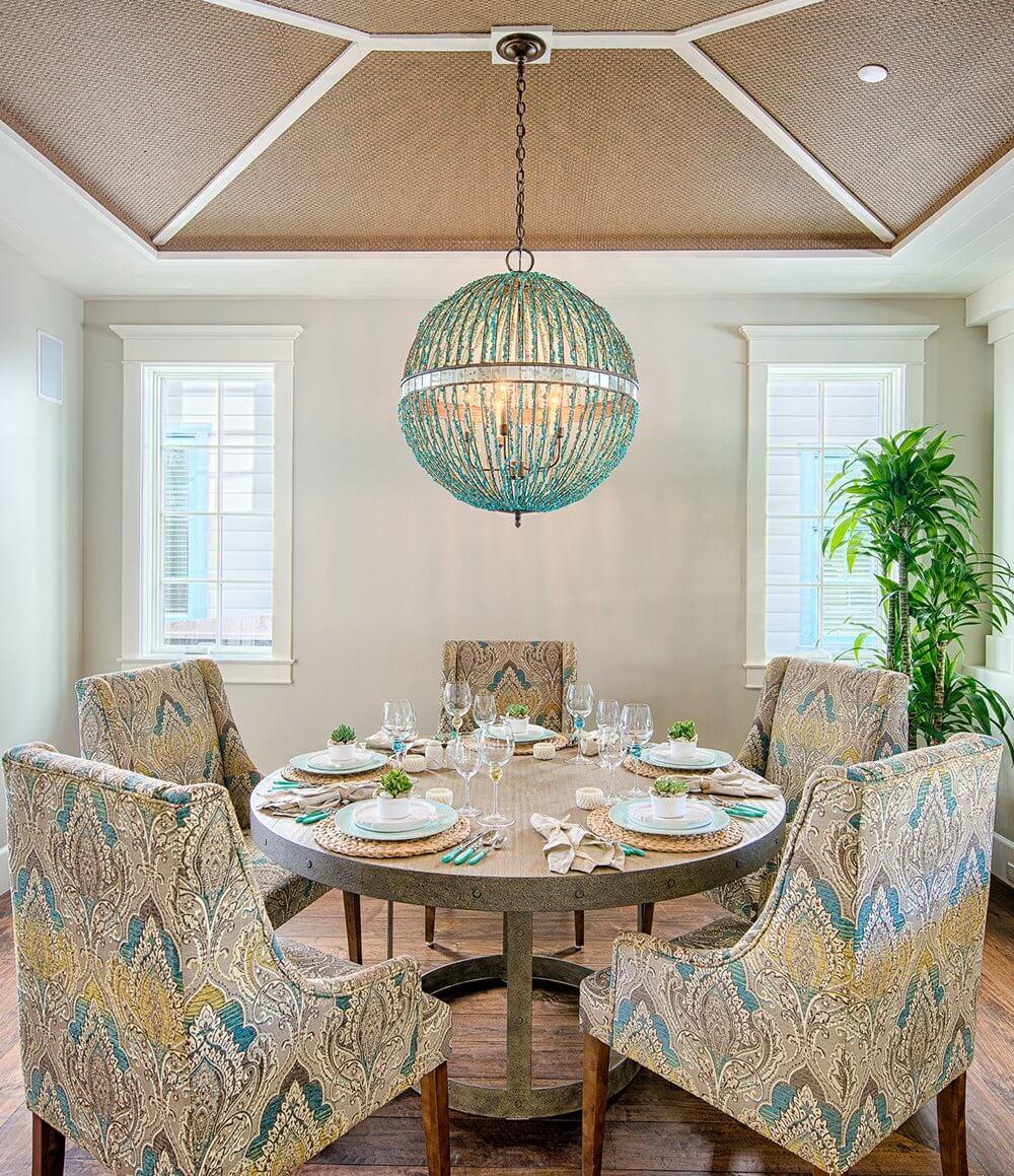 beach dining room ideas coastal